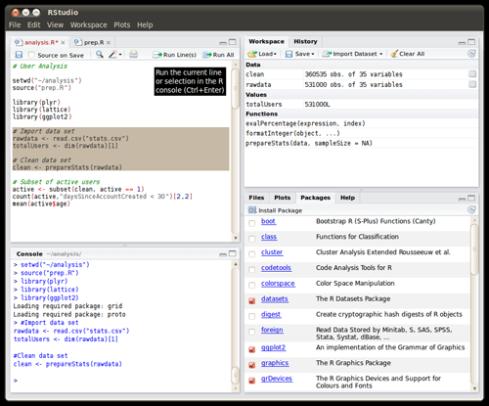 RStudio, new open-source IDE for R | RStudio Blog