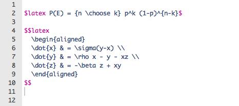 MathJax Syntax Change