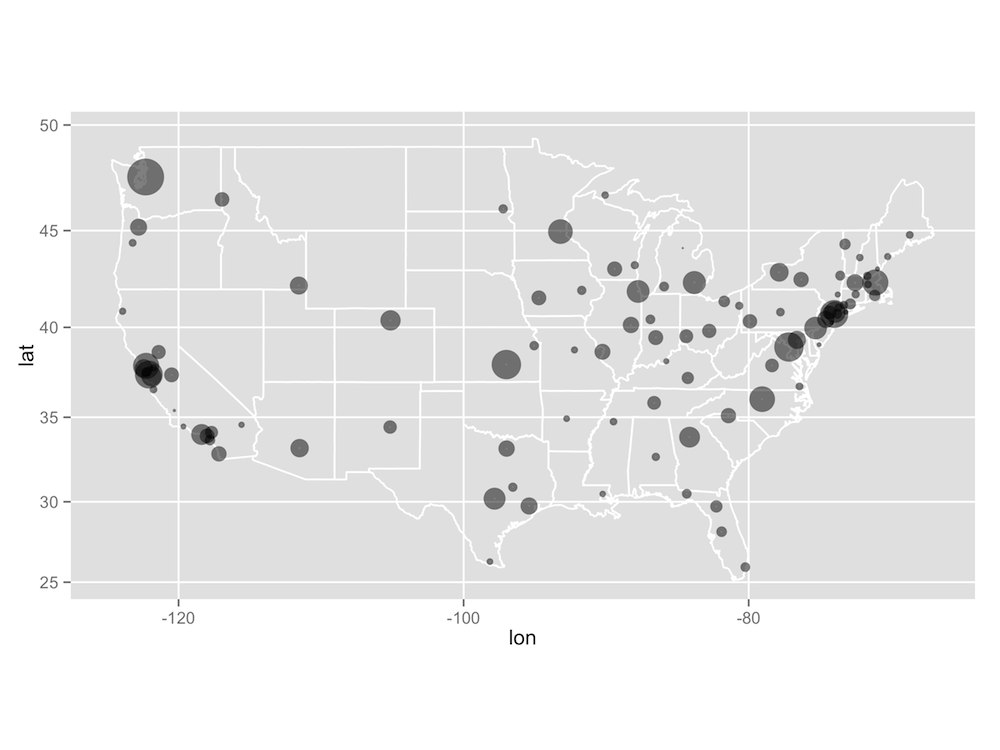 Where In The World Is R And RStudio RStudio Blog - Making map of us in r