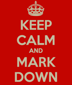 Keep Calm and Markdown