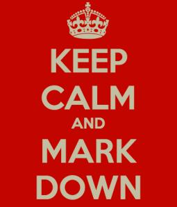 Keep Calm and Markdown