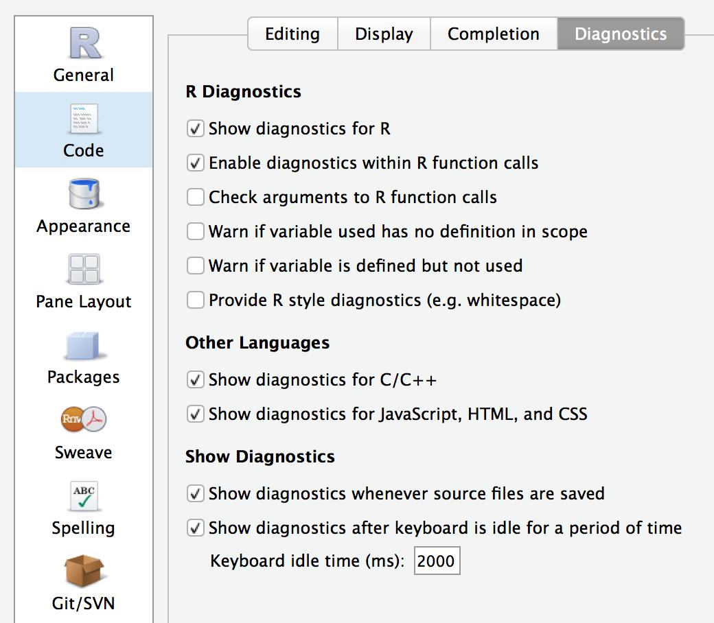 diagnostics-options