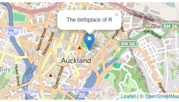 The Leaflet Package For Online Mapping In R Rbloggers - Mapping points on us map in r