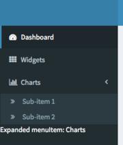 shinydashboard 0.6.0